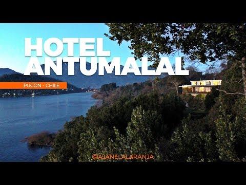 Onde ficar em Pucón, Hotel Antumalal, uma bela viagem no Chile pertinho de um vulcao