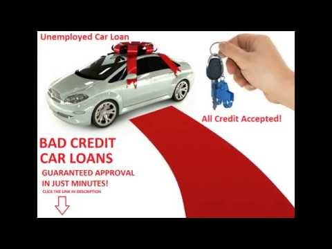 Bad Credit Car Loans Unemployed
