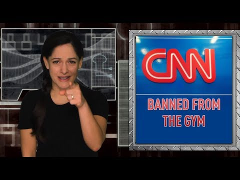 Gym bans cable news because it's bad for people's health