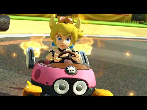 BOWSETTE In Mario Kart 8 Deluxe!