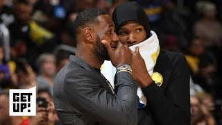 Don't whisper with LeBron if you don't want attention - Seth Greenberg to Kevin Durant | Get Up!