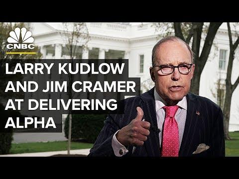 LIVE: Larry Kudlow and Jim Cramer at Delivering Alpha Conference - June 18, 2018