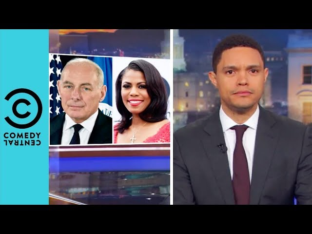 Omarosa Releases Two Secret White House Mixtapes | The Daily Show With Trevor Noah