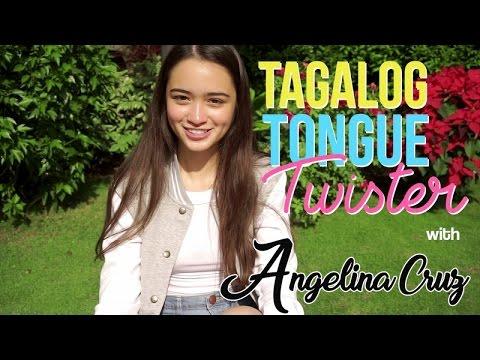 Angelina Cruz - Tagalog Tongue Twister