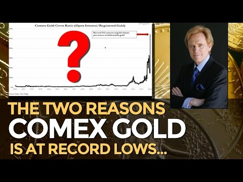 COMEX Gold: Two Reasons It Is At RECORD LOWS - Mike Maloney