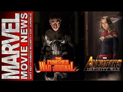 Punisher's Plot Revealed, Brie Larson Spotted on Avengers Set, and More   Marvel Movie News Ep 148