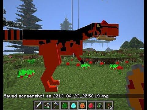 Майнкрафт Зоопарк из Динозавров 1 день YouTube