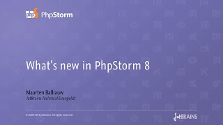 What's new in PhpStorm 8?