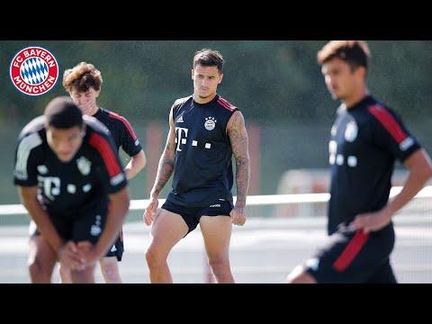 Circle Training by Sané, Coutinho, Lewandowski & Co.