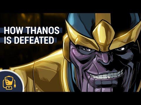 How The Avengers Beat Thanos, According to the Comics