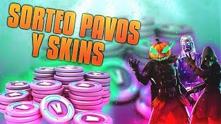 *SORTEO PAVOS AND SKINS* (CLOSED) with xSlydden- Fortnite