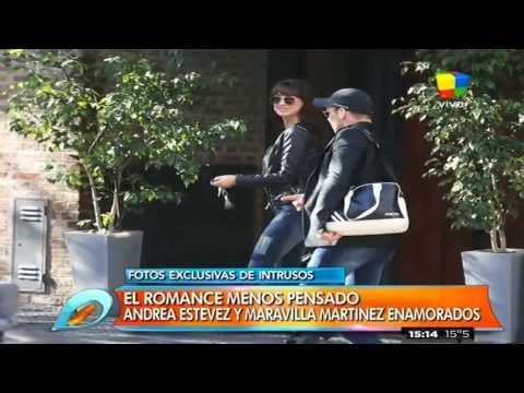 Las fotos que confirman el romance entre Andrea Estevez y Maravilla Martínez