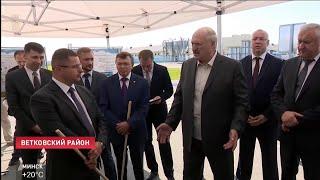 """""""Зачем ты гробишь скот?!"""". Лукашенко инспектирует Гомельскую область"""
