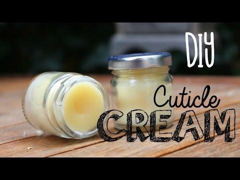 DIY Cuticle Cream