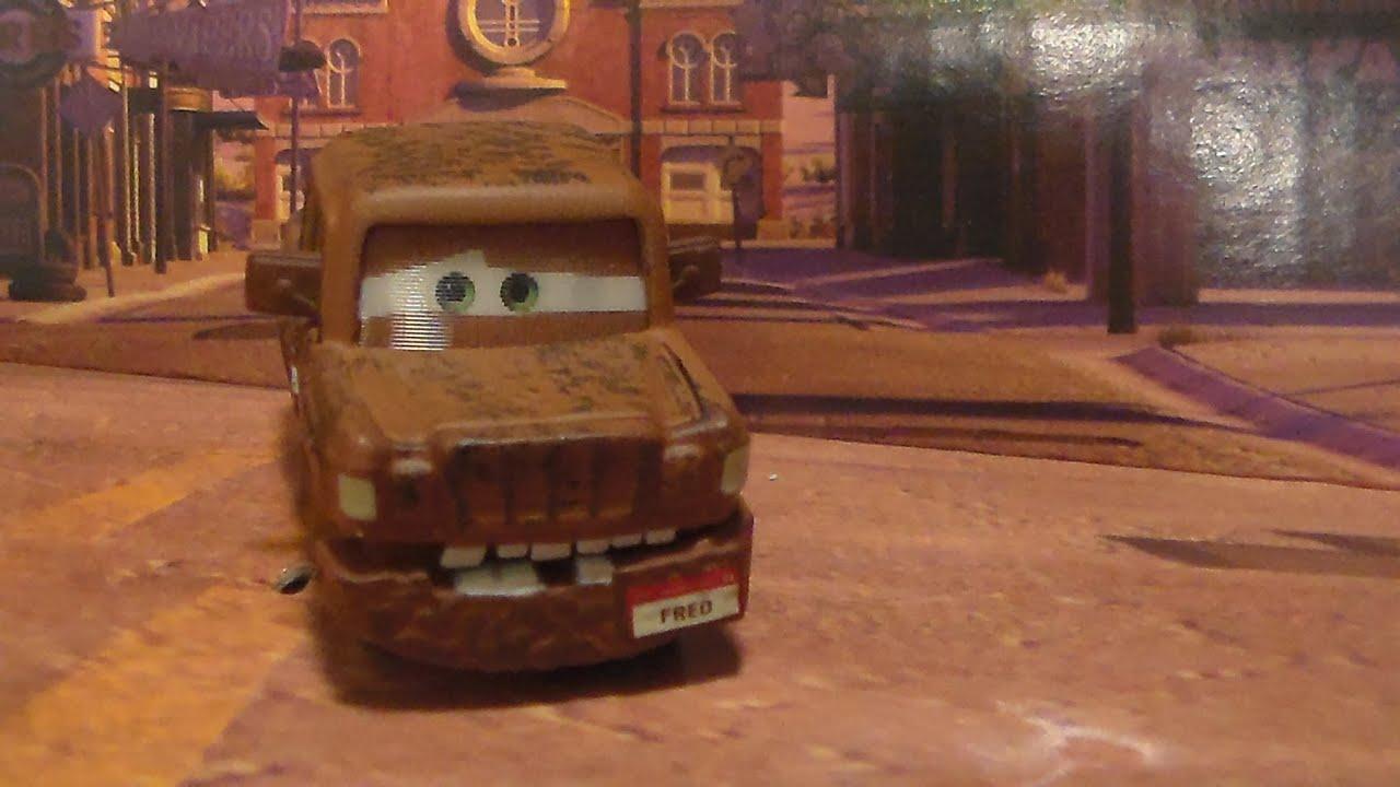 fred w fallen bumper 2010 chase mattel disney pixar. Black Bedroom Furniture Sets. Home Design Ideas