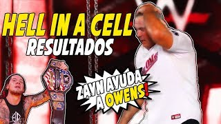 Resultados WWE Hell in a Cell 2017