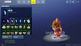FORTNITE BALLER EMOTE/DANCE [NEW][LEAKED][STORE]