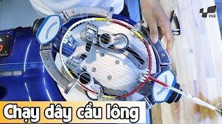 Đan lưới cầu lông 11 ký có chạy dây hay không?