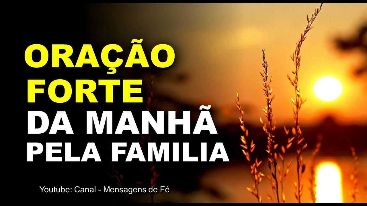 Oração família Por do sol
