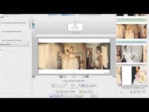 Create wedding photo album online