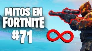 ¡¿Alcance infinito con el Fusil de Tirador Automático?! -  Mitos Fortnite - Episodio 71