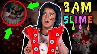 3am Slime Challenge! DO NOT MAKE SLIME AT 3AM on FRIDAY 13TH!