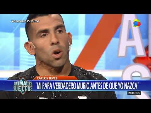 "Carlos Tevez: ""Mi papá verdadero murió antes de que yo nazca"""