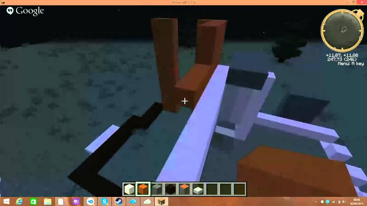 tuto villa minecraft sans deco - YouTube
