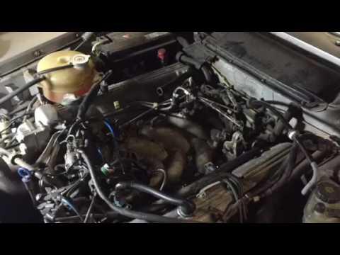 How to repair Mercedes high idle M117 vacuum leak part 1 - YouTube