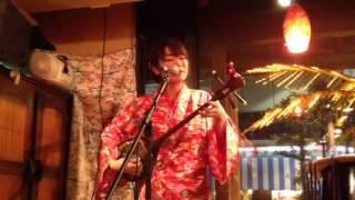 北谷食堂妻恋坂店にて この「童神」はとてもかっこいいです!