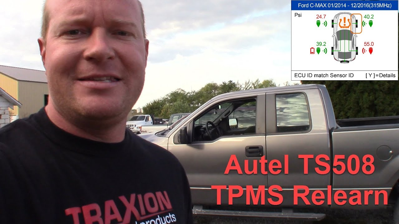 2014 Ford F150 TPMS Programing with Autel TS508