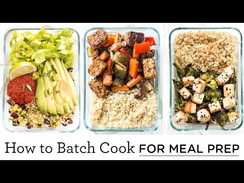 HOW TO BATCH COOK | easy meal prep ideas & healthy recipes