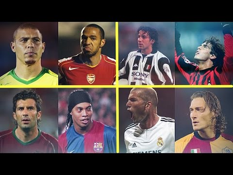 Legendary Old Football Skills Show - Ronaldo,Dinho,Totti,Henry,,Kaka,Zidane & more! | HD