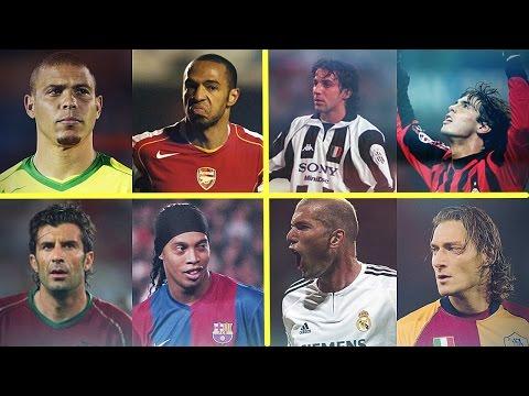 Legendary Old Football Skills Show Ronaldo Dinho Totti Henry Kaka