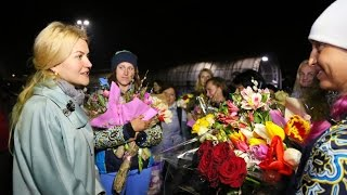 Сборная Украины по синхронному плаванию вернулась с квалификационного турнира в Рио-де-Жанейро