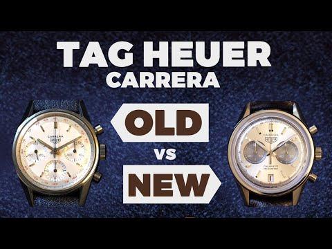 06c84b70902e Old vs New - TAG Heuer Carrera Cal. 18   Vintage Heuer Carrera - YouTube