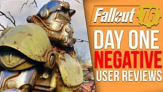Fallout 76 Day One User Reviews are Extremely Negative thumbnail