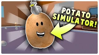 *AWESOME* POTATO SIMULATOR GAME ON ROBLOX   Best Simulator Game?
