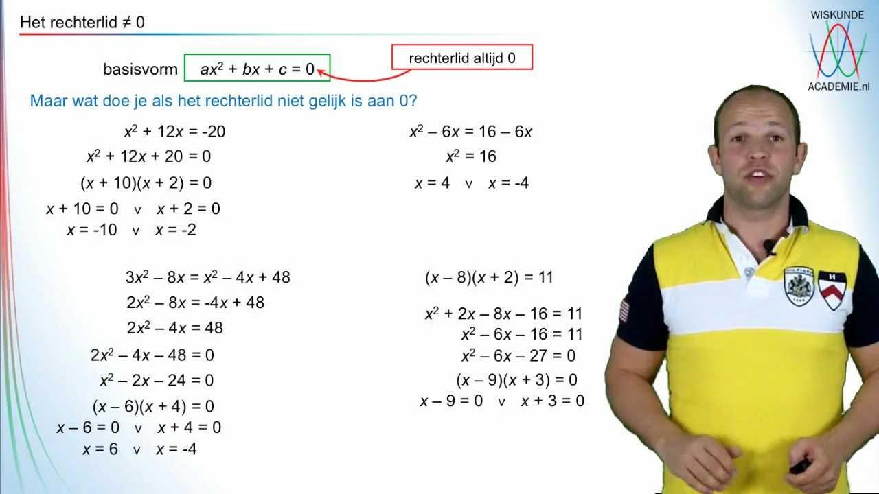 wiskunde oplossen