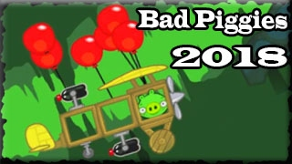 BAD PIGGIES 2018 When Pigs Fly  Full Game With Bonus Levels 36+12 levels