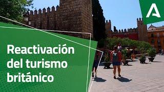 El turismo británico se reactiva en Andalucía