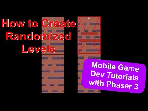 'Endless Cave' Ep. 11: Random Generated Levels | Phaser 3 Game Dev Tutorial thumbnail