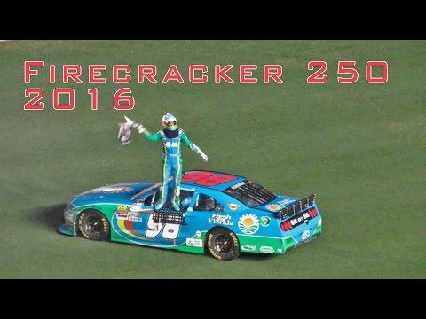 xFinity Subway Firecracker 250 Daytona Speedway 2016