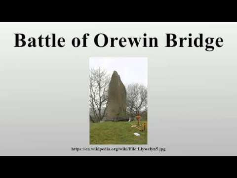 Battle of Orewin Bridge
