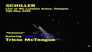 Schiller (ft. Tricia McTeague) - Universe (Live in Cologne, 17.05.19)