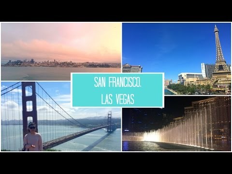 Travelling around the USA #2 || San Francisco & Las Vegas