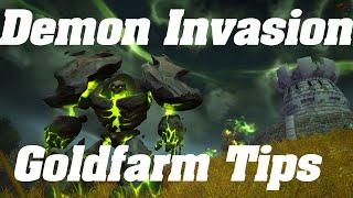 WoW: Demon Invasion Goldfarming Tips & tricks   Pets & Toys   Goldfarming Guide