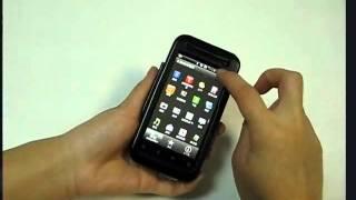 pDair  Aluminum Metal Case for HTC Rhyme S510b/HTC Bliss - Open Screen Design (Black)