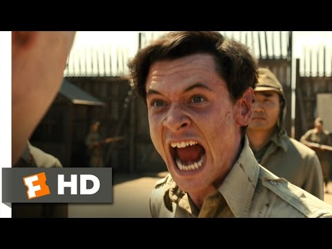 Unbroken 810 Movie CLIP  Punch Him in the Face 2014 HD