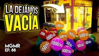 Vaciando Maquina de Pelotas/Tickets - MiniGames en el Mundo Real Ep. 88